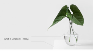What is Simplicity Theory/image of leaves in vase